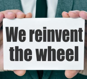 We reinvent the wheel